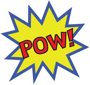 POW! Superhero Day at Penn Museum :: East Coast Black Age of ... - ClipArt Best - ClipArt Best