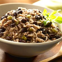 #Latino Twist on #Thanksgiving - Black Beans and Rice Recipe and more by Ana Quincoces @abullseyeview