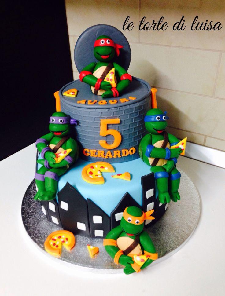 Tartarughe ninja cake