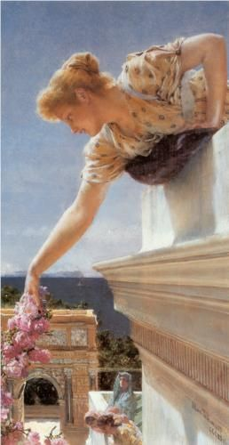 God Speed! - Sir Lawrence Alma-Tadema