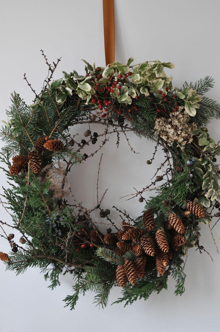 Foraged Evergreen Wreath