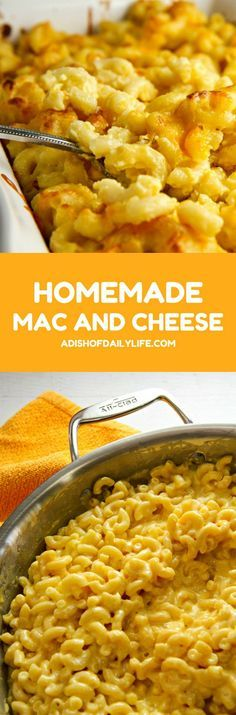 Always a crowd favorite, this stove top Homemade Mac and Cheese recipe ...