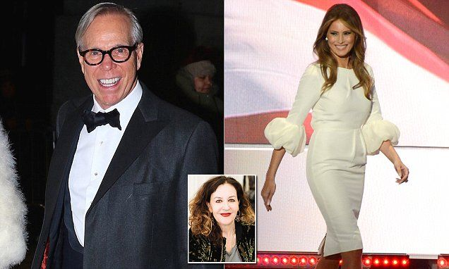 Tommy Hilfiger says designers 'should be proud' to dress Melania Trump