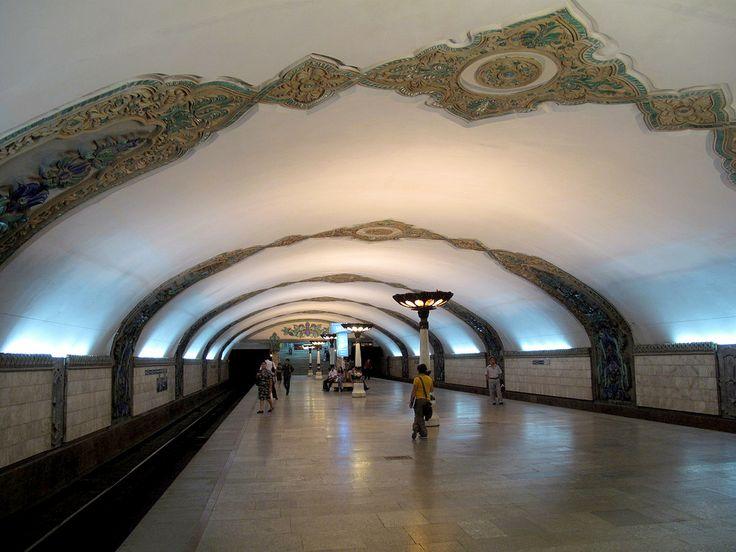 Tashkent Subway | Toshkent metropoliteni - SkyscraperCity