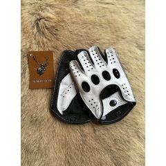 Neue Fingerlose Lederhandschuhe Herren #gloves #leather #lederhandschuhe #handschuhe #sport
