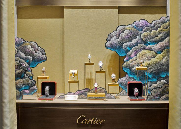 Julien Colombier, CARTIER, windows display 2015