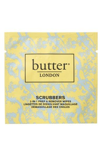 butter LONDON 'Scrubbers' Nail Polish Remover available at #Nordstrom