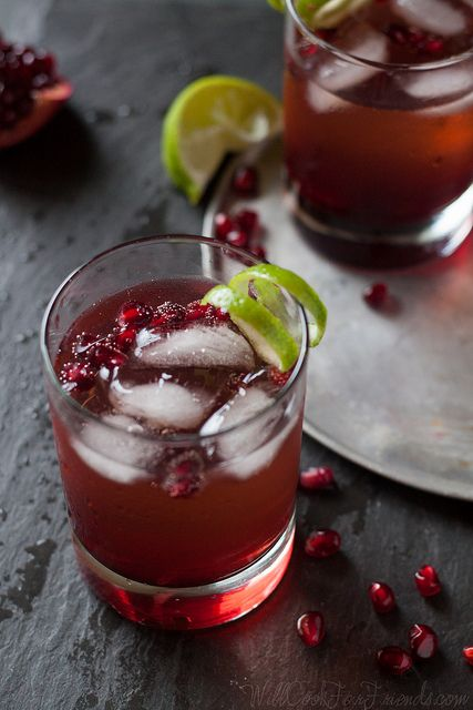 Homemade, Pomegranates and Liquor on Pinterest