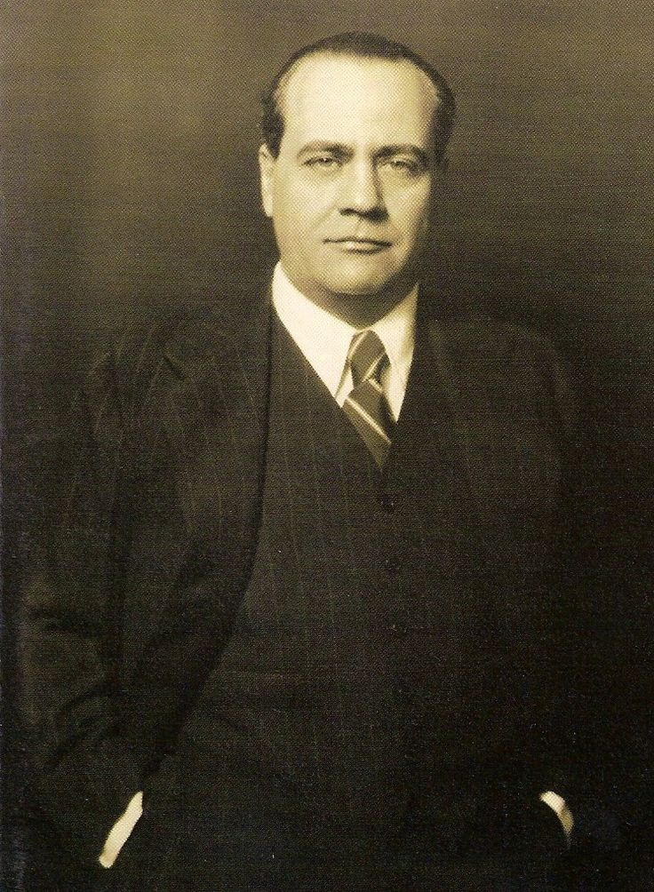 Juan Negrín. Presidente del Gobierno de la II República española entre 1937 y 1945, ya en el exilio.