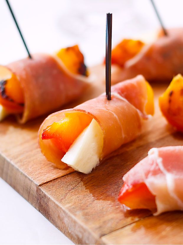 Nothing compares to these grilled peaches as the perfect summertime appetizer.