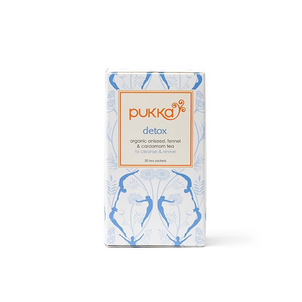 Try a new tea in the new year - Detox from Pukka. Cleanse & Revive!