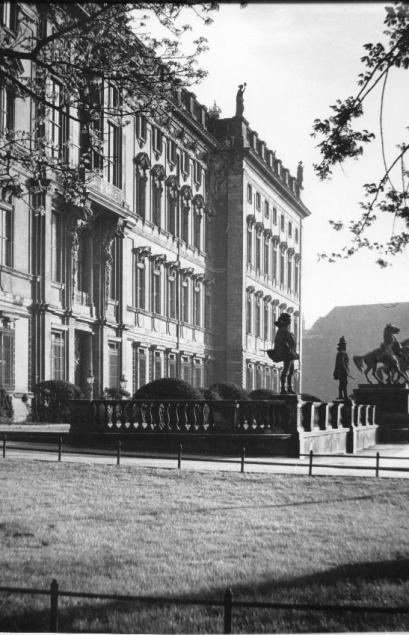 Eosanders Risalit Die Lustgartenfassade des Berliner schlosses 30er Jahre