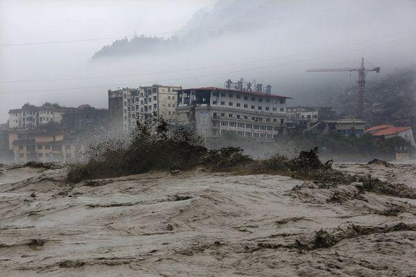 Air pollution may be responsible for catastrophic flooding in China. On July 9, 2013, heavy floodwaters swept through Beichuan in southwest China's Sichuan province.