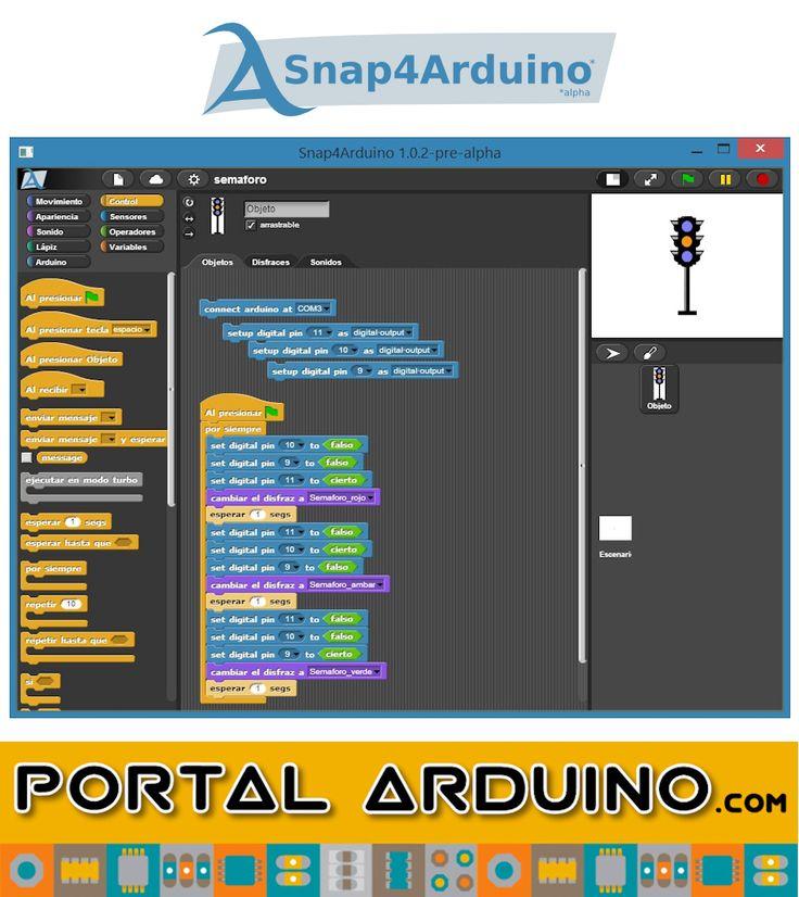Snap4Arduino  Curso online Programación Gráfica de Arduino  Campus Tecnológico Virtual