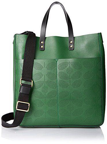Orla Kiely Sixties Stem Punched Leather Burdock Shoulder Bag, Spruce, One Size Orla Kiely http://www.amazon.com/dp/B011ZCS03A/ref=cm_sw_r_pi_dp_nVWgwb1JAJS04