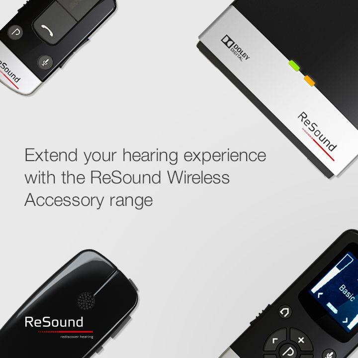 Connect, interact and engage with your world. With ReSound's ecosystem of wireless connectivity you can stream, control and personalise the sound to your ReSound hearing aids without wearing an intermediary device around your neck.   Visit resound.com/en-AU/hearing-aids/accessories