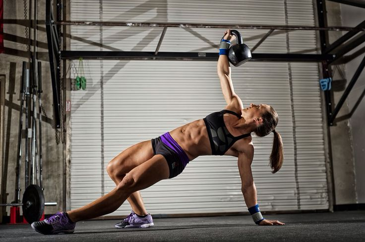 Rx  Smartgear Photo - Crossfit women - Turkish get up