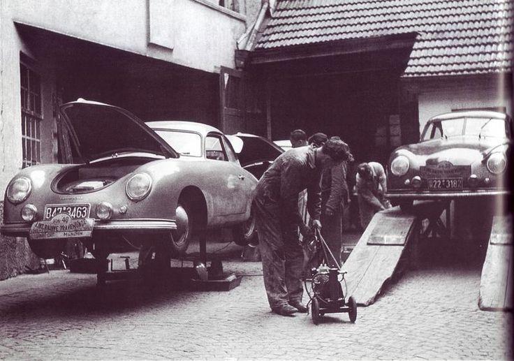 1951 Rallye Travemunde - early 356 Coupe