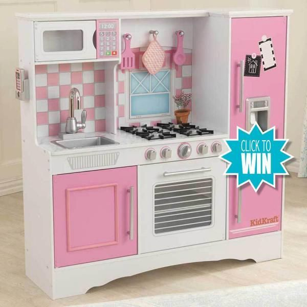 #Win a KidKraft Wooden #Kitchen - closing date 30th Nov. Enter every day to increase your chance of winning. No catch, no spam. We only take your email address to notify you if you win. See website for T&Cs. Enter every day across all 5 of our websites and increase your chances further: www.iwonchristmas.com, www.dailyclicktowin.com, www.clickswin.co.uk & www.winwithclicks.co.uk Follow us on Facebook www.facebook.com/dailyclicktowin and on Twitter @dailyclicktowin #toy #Christmas