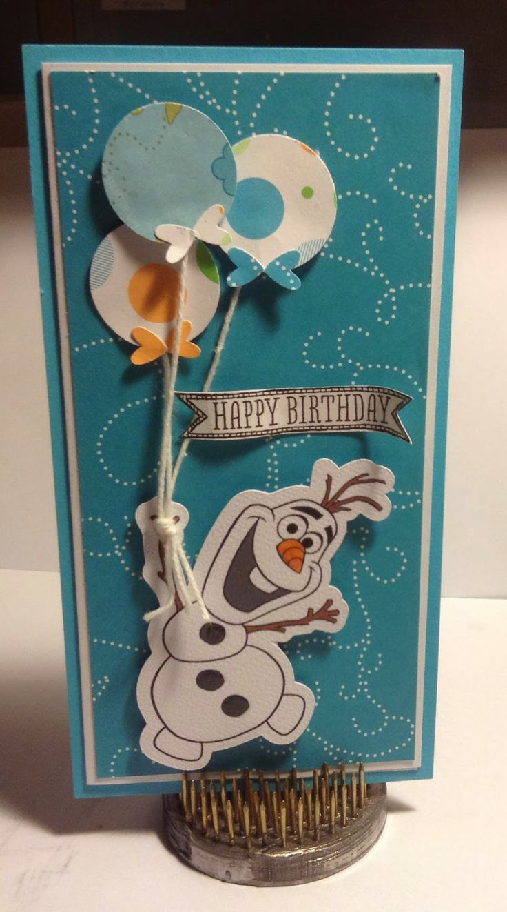 Olaf - Silhouette Print and Cut