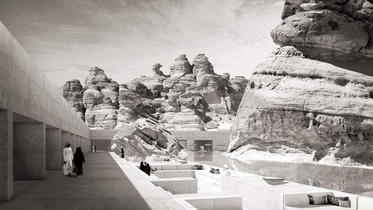 "Gallery of Wendell Burnette Architects Designs ""Mirage"" Hotel for Saudi Arabia's 1st UNESCO Site - 13"