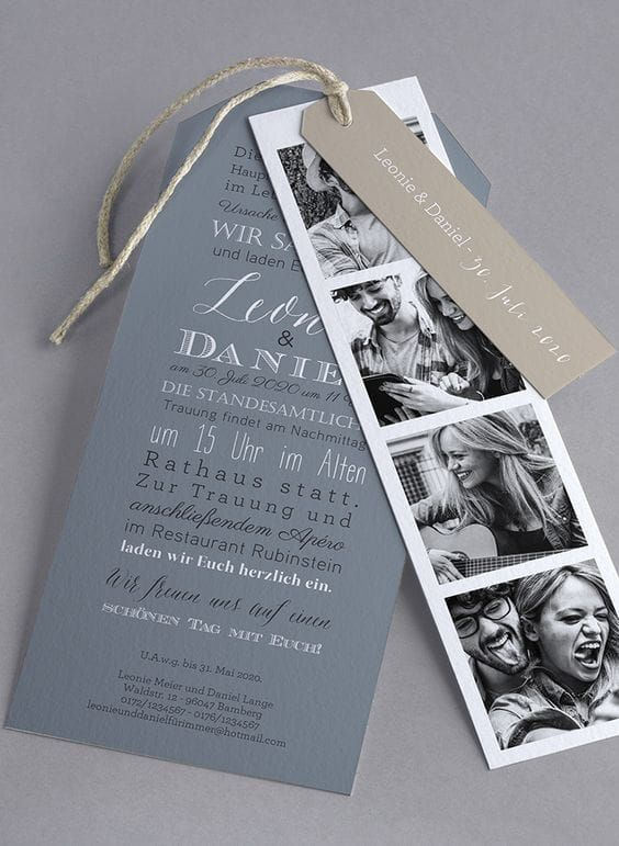 12 creativas ideas para que tus invitaciones de boda sean memorables