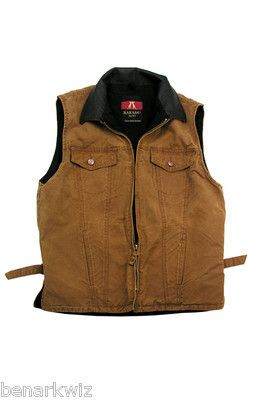 Kakadu Kelly Vest Concealed Carry Tobacco Canvas Mens Womens Left or Right Hand | eBay