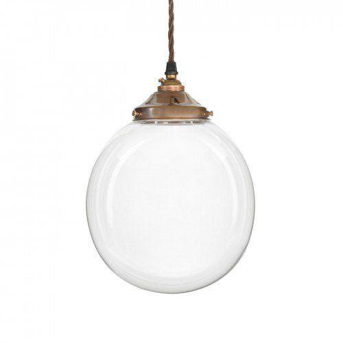 Glass Globe Pendant Light