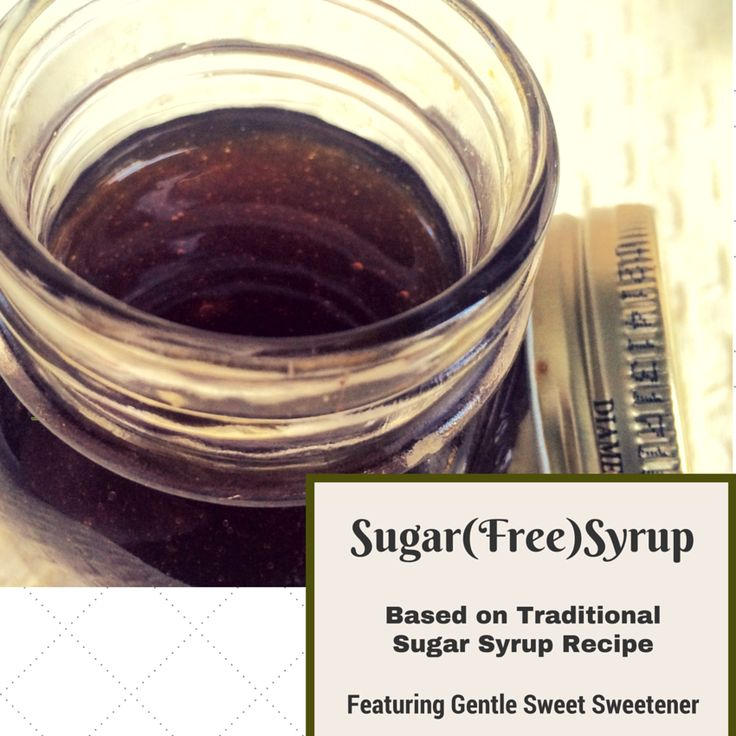 Sugar (Free) Syrup with Gentle Sweet