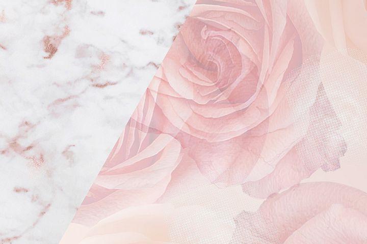 Rose Gold Marble Wallpaper The Range