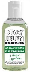 1) Biały Jeleń Hipoalergiczny MINI Płyn micelarny 50ml - https://www.perfectfresh.com/32714/Bialy-Jelen-Hipoalergiczny-MINI-Plyn-micelarny--50ml-69394  2) Biały Jeleń Hipoalergiczny MINI Żel pod prysznic i szampon z łopianem 2w1 50ml - https://www.perfectfresh.com/32717/Bialy-Jelen-Hipoalergiczny-MINI-Zel-pod-prysznic-i-szampon-z-lopianem-2w1--50ml-69392  3) Biały Jeleń Hipoalergiczny Premium MINI Szampon dla mężczyzn z chmielem 50ml