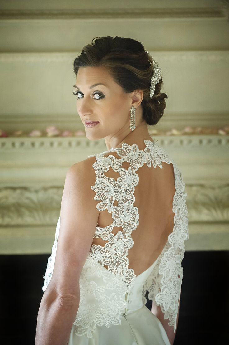 A open lace shrug. Dynamic and elegant