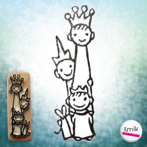 tři králové do výšky – razítko