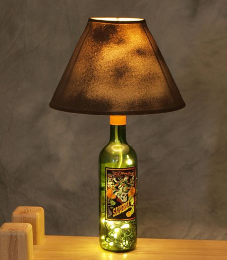 10 most unusual ways to reuse glass bottles :)