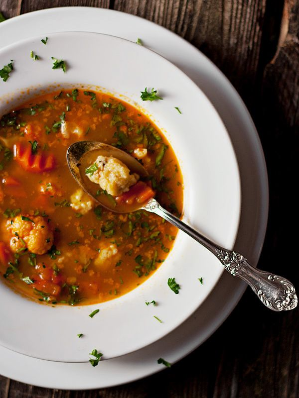 paprika spiced cauliflower soup spicy recipes chili recipes vegetarian ...