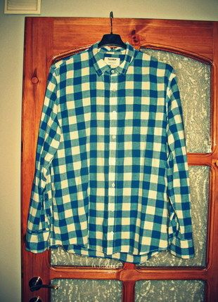 Kup mój przedmiot na #vintedpl http://www.vinted.pl/odziez-meska/koszule/10328050-koszula-meska-niebiesko-biala-w-krate-rozmiar-xxl