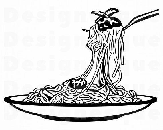 Spaghetti 2 Svg Spaghetti Svg Pasta Svg Spaghetti Clipart Etsy In 2021 Svg Clip Art Phoenix Vector