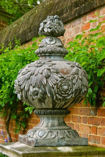 lovely botanical finial... WMG blog