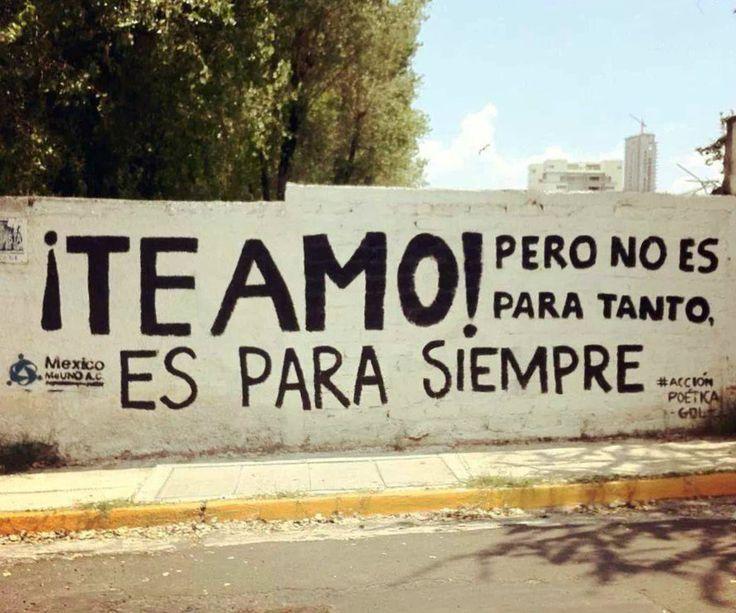 #teamo para siempre ♥