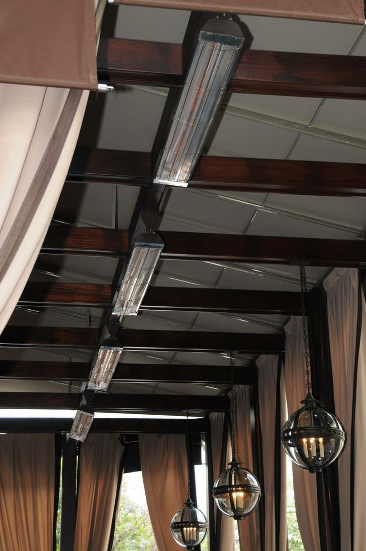 Infratech 4000 Watt Heaters In A Patio Setting. See More At Http://