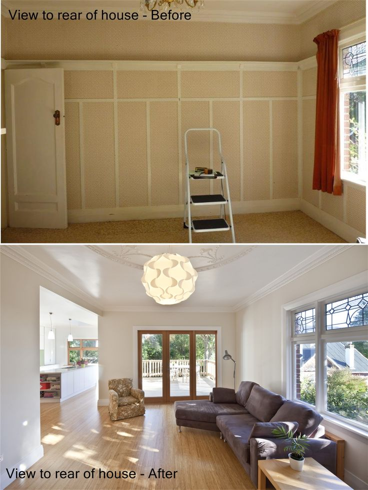 design arc Limited | Hard to believe these photos were taken in the same location (see window RHS to show you that it is) | It was so much fun working with my clients to get the potential out of their house.