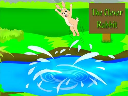Short stories for kids with morals - The clever rabbit and the foolish lion
