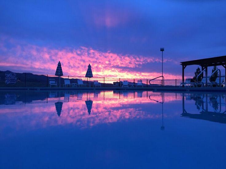 Reflections at Sunrise