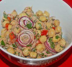 Thunfisch - Kichererbsen - Salat, ein raffiniertes Rezept aus der Kategorie Gemüse. Bewertungen: 21. Durchschnitt: Ø 4,0.