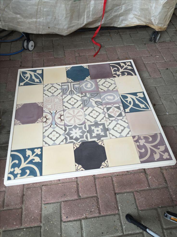 1000 idee n over tegel tafels op pinterest gezellige achtertuin marokkaanse tegels en planken - Tegel voor geloofwaardigheid ...
