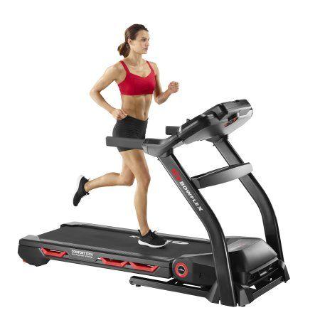 Bowflex BXT116 3.75 HP Portable Treadmill with Incline, Black