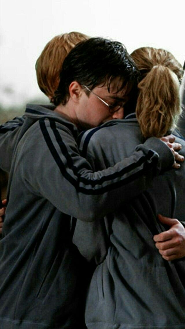 The Golden Trio Harry Potter Tumblr Harry Potter Films Harry Potter Images
