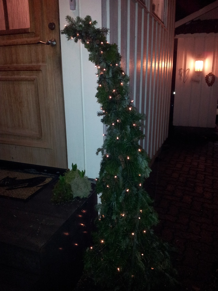 Homemade christmastree for the outside!