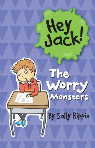 """""""The Worry Monsters"""" (Hey Jack!) by Sally Rippin, illustrated by Stephanie Spartels - just one of a great real world series of early chapter books. Great stories, engaging illustrations, and large font add up to a surefire recipe for  reading mileage. (See also, Billie B Brown.)"""