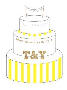 オリジナルウェディングケーキ |nico◡̈*blog 手作り結婚式